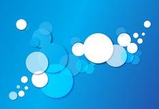 Blauer Hintergrund Stockfotografie