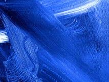 Blauer Hintergrund der abstrakten Kunst, Beschaffenheitsmalerei Stockfoto