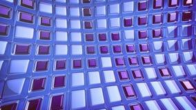 Blauer Hintergrund der Abstraktion 3d Lizenzfreie Stockfotos