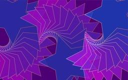blauer Hintergrund der Rot-Flieder von Sternen für die Werbung von Plakaten lizenzfreies stockbild