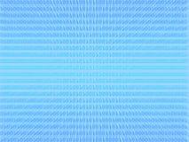 Blauer Hintergrund des binären Codes Lizenzfreie Stockfotografie