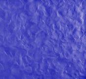 Blauer Hintergrund mit den Fingerabdrücken gemacht vom Plasticine Lizenzfreie Stockfotos