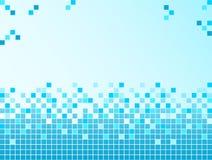 Blauer Hintergrund mit Pixeln Lizenzfreies Stockbild