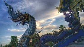 Blauer König von Nagas Stockfotografie