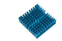 Blauer Kühlkörper Lizenzfreie Stockfotos