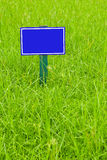 Blauer Kennsatz Lizenzfreie Stockbilder