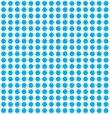 Blauer Kreishintergrund Stockfotografie
