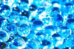 Blauer Kugelhintergrund Lizenzfreie Stockfotografie