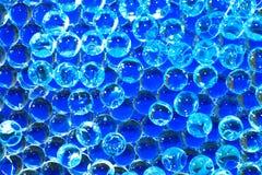 Blauer Kugelhintergrund Stockfotos