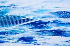 Blauer Kunsthintergrund stock abbildung
