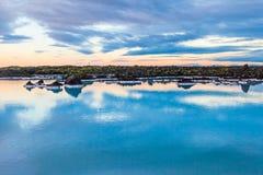 Blauer Lagunenbereich nahe Reykjavik, Island Lizenzfreie Stockbilder
