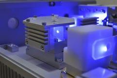 Blauer Laser stockfotos