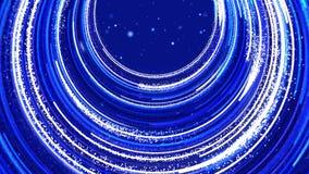 Blauer lebhafter abstrakter Hintergrund stock video