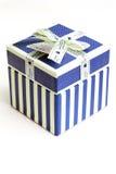 Blauer Liebes-Kasten Stockbild