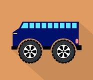 Blauer LKW vektor abbildung