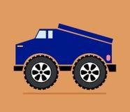 Blauer LKW stock abbildung