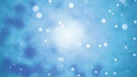 Blauer Loopable-Hintergrund stock video