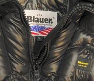 Blauer Marke Lizenzfreies Stockbild