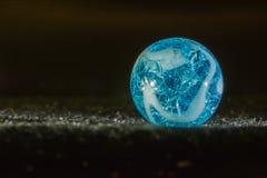 Blauer Marmor Stockbild