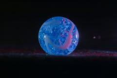 Blauer Marmor Lizenzfreies Stockbild