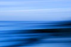Blauer Meerblick Stockbilder