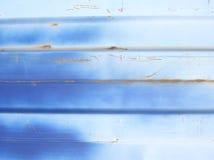 Blauer Metallauszug lizenzfreies stockbild