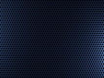 Blauer Metallhintergrund Lizenzfreie Stockfotografie
