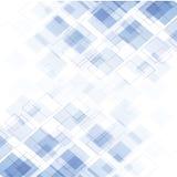 Blauer moderner abstrakter Hintergrund Stockfotografie