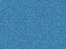 Blauer Mosaik-Hintergrund Stockfotografie