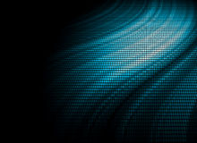 Blauer Mosaikauszugshintergrund Stockbild