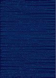 Blauer Musterhintergrund der punktierten Linien über tiefem Blau Stockbilder