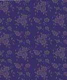 Blauer nahtloser Blumenhintergrund lizenzfreie abbildung