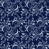 Blauer nahtloser Hintergrund Stockfotografie
