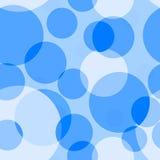 Blauer nahtloser Hintergrund Lizenzfreies Stockfoto