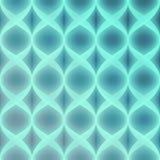 Blauer Neonvektor-nahtloses Muster Lizenzfreie Stockfotos