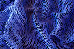 Blauer Nettohintergrund Stockfotografie