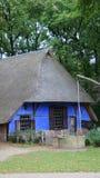 Blauer niederländischer Bauernhof Stockfoto