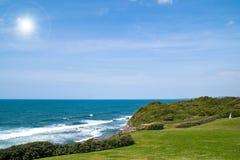 Blauer Ozean Lizenzfreie Stockfotos