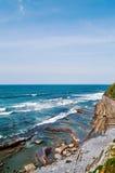 Blauer Ozean Stockfoto