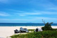 Blauer Ozean bei Vietnam Stockbilder