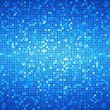 Blauer Ozean-Disco-Matrix-Hintergrund Lizenzfreie Stockbilder