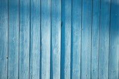 Blauer Palisadenzaun Lizenzfreie Stockfotos