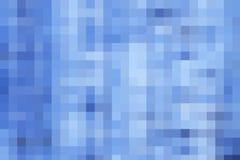 Blauer Pixelhintergrund Lizenzfreies Stockbild