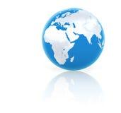 Blauer Planet lizenzfreie abbildung