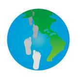 Blauer Planet. Tourismus Lizenzfreies Stockfoto