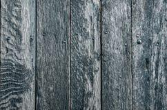 Blauer Plankenhintergrund lizenzfreie stockfotografie