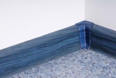 Blauer Plinth lizenzfreies stockbild