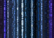 Blauer polygonaler Lichtvorhang-Zusammenfassungs-Hintergrund Stockfotos