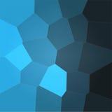 Blauer Polygonhintergrund Lizenzfreies Stockfoto