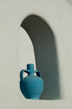Blauer Potenziometer Stockfoto